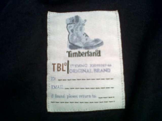 Vendo chaqueta de cuero timberland