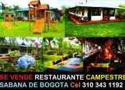 Se Vende Restaurante Acreditado, Campestre, Negocio, Chía, Bogotá.