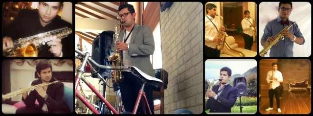 Musico saxofonista, serenatas, musica en vivo