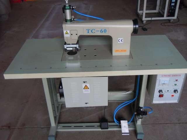 De encaje de ultrasonidos máquina de coser tc-60