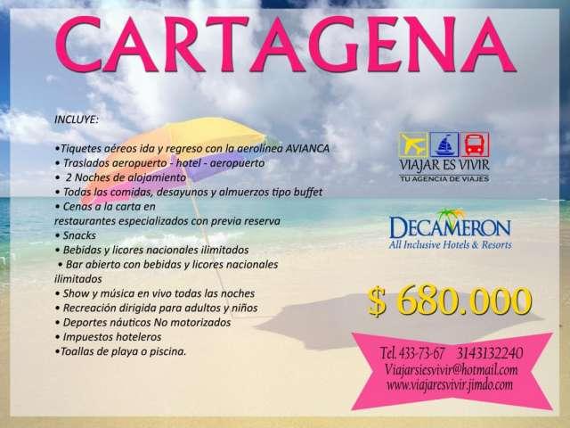 Cartagena hotel decameron