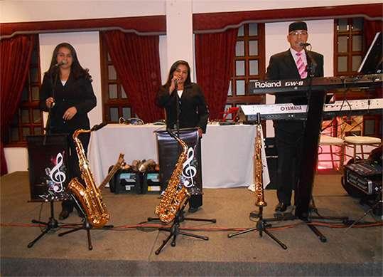 Los músicos para su evento