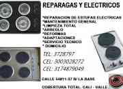 Estufas electricas en cali - reparacion