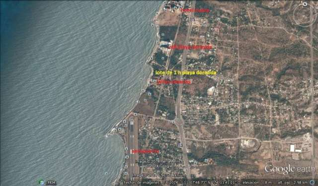 Lote de 8.842 m2, ubicado en playa dormida - sector pozos colorados