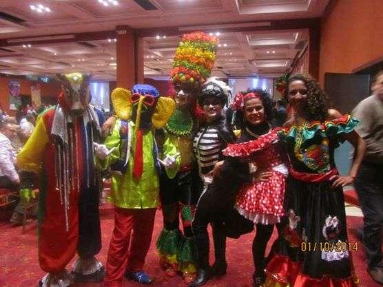 Carnaval de barramquilla.hora loca,batucada,papayera chirimia
