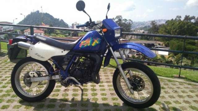 Kawasaki kmx 125 - mod 98