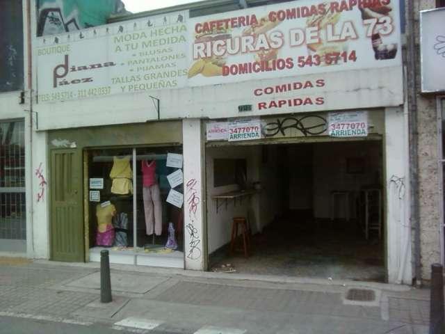 Vendo casa comercial 2 locales av. boyacá # 73 a-3