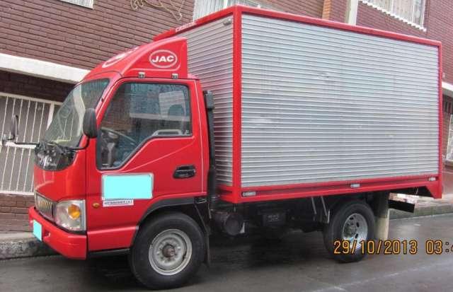 Vendo camioneta furgón jac 2012