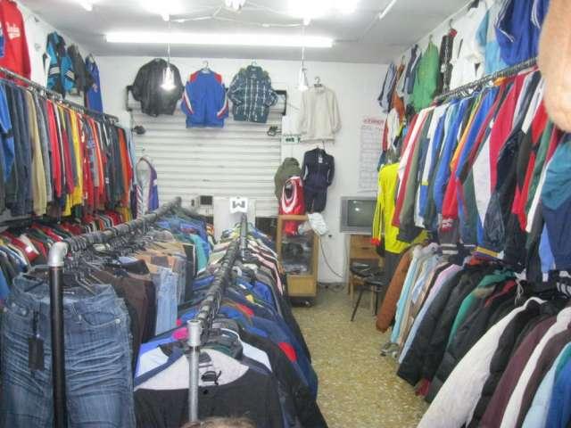 Vendo negocio de ropa americana