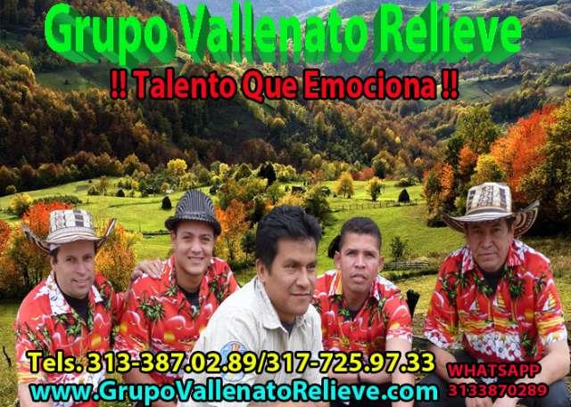 Grupo vallenato relieve ? conjuntos vallenatos ? parranda vallenata para fiestas