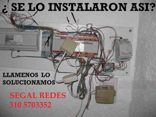 Venta de equipos mantenimiento e instalación, redes, citofonia, cctv