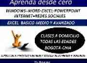 Clases practicas Excel (BASICO-MEDIO Y AVANZADO) A DOMOCILIO.