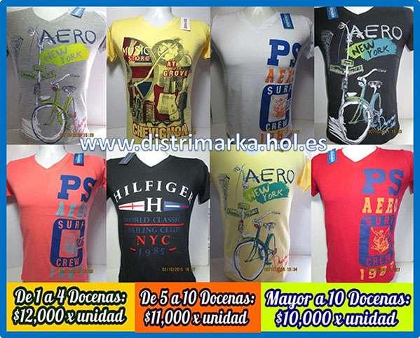 Camisetas de marca al por mayor