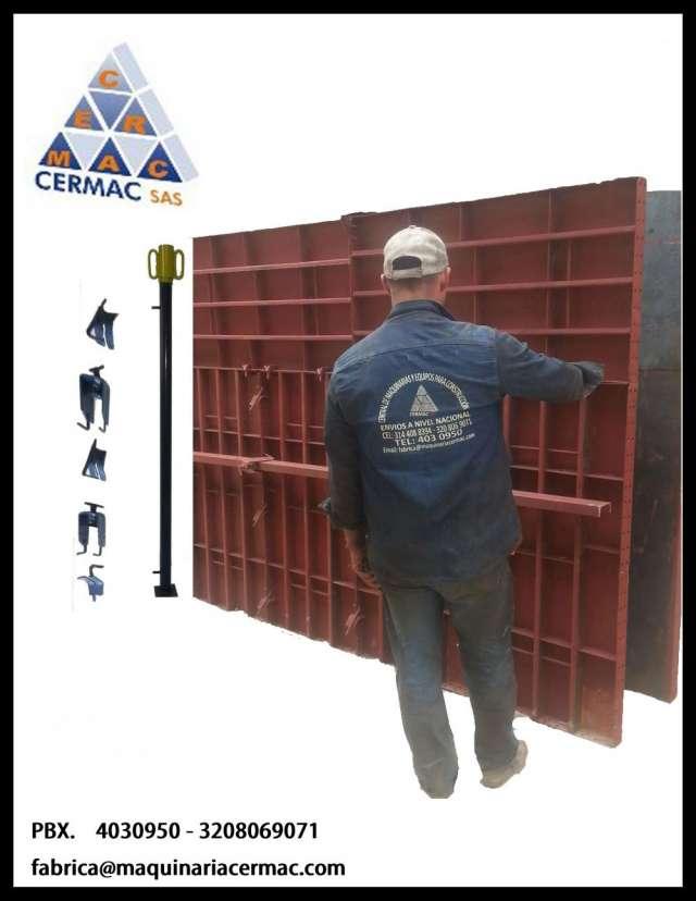 Formaleta metalica paneles de 120x060