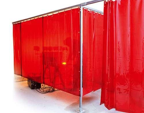 Fotos de Elaboramos, fabricamos y distribuimos cortinas especializadas para soldaduras 6
