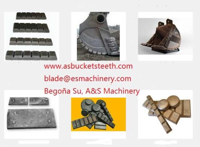 Fotos de Elemento desgaste excavadora volvo ec15/ec160c/ec210/ec230 2