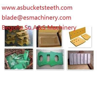 Elemento desgaste excavadora volvo ec15/ec160c/ec210/ec230