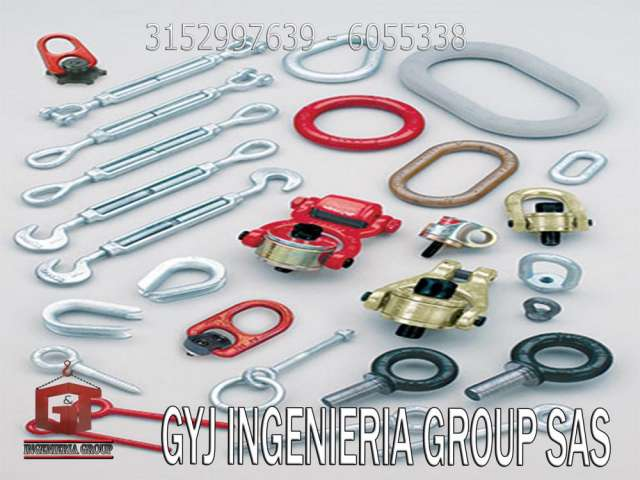 Construcción en alturas, comercializadores y proveedores de equipos crosby u.s.a.