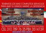 Alquiler de  togas y birretes en bogotá  pbx3514739 ce3107897625