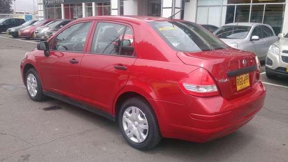 Nissan tiida 2011 con aire $ 21500.000