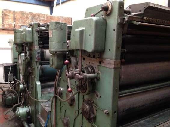Regalo maquina litográfica zenit royal medio pliego mayor - bicolor