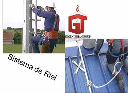 Lineas de vida para postes y torres de telecomunicaciones