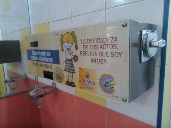 Dispensador toallas higienicas