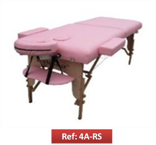 Camillas portatiles para masajes y reiki