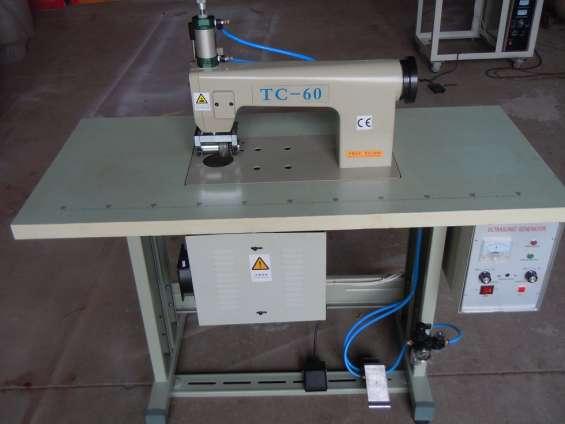 Bolsa de tc-60 ultrasonidos máquina de coser