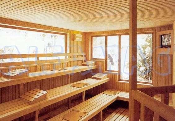 Saunas, en pino semilla reparación , eléctricos
