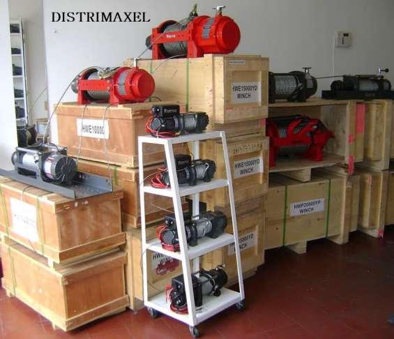 Distrimaxel importador directo de fabrica cabrestantes 4x4 malacares
