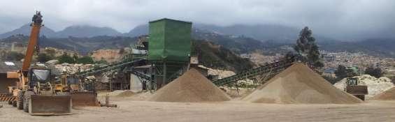 Agea agregados y equipos venta de material, triturado, gravilla, grava, arena, mixto, agregado, grava de rio, recebo, bases y sub bases