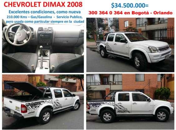 Se vende camioneta dmax