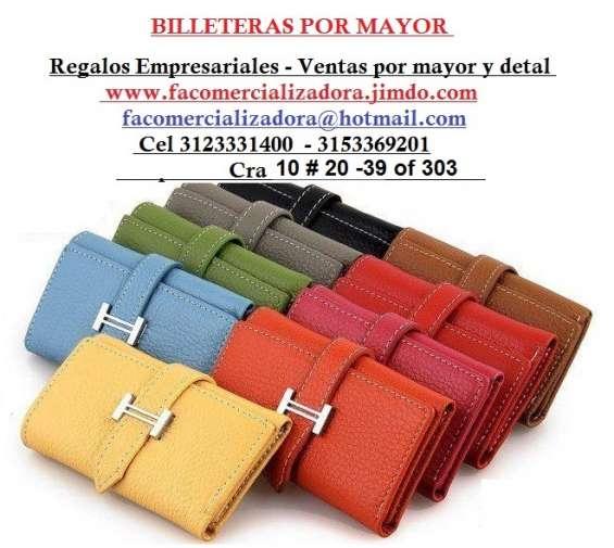4cb5716beee5 Billeteras nacionales e importadas ventas por mayor y detal  facomercializadora