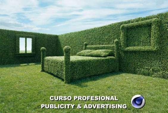 Nuevo curso cinema 4d publicity & advertising virtual