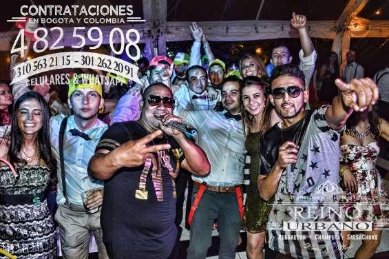 Grupos de reggaeton en bogota - musicos y hora loca en bogota
