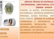 Servicio técnico de controles de acceso