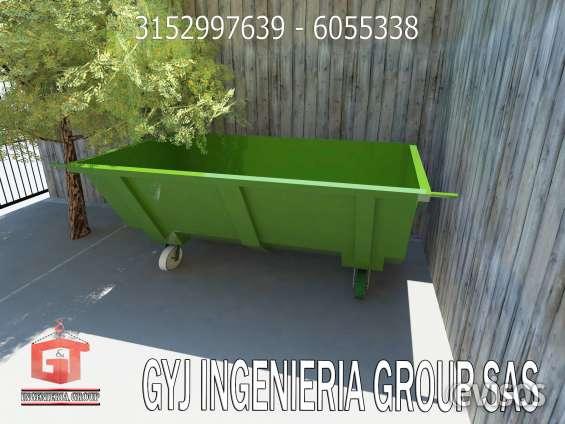 Fotos de Contenedores para almacenaje de todo tipo de residuos 2