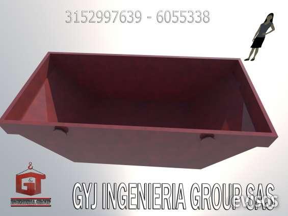 Contenedores para almacenaje de todo tipo de residuos