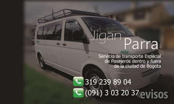 Transporte especial de pasajeros - vans y buses transporte terrestre