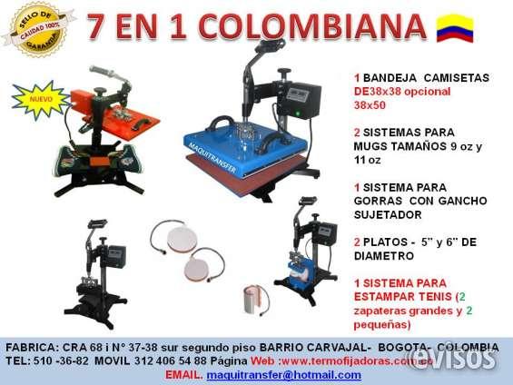 Termofijadoras maquitransfer.producto colombiano