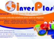 Inverplast,fabrica de plasticos  surtimos su negocio