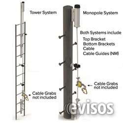 Fotos de Lineas de vida para escaleras, torres y monopolos 1