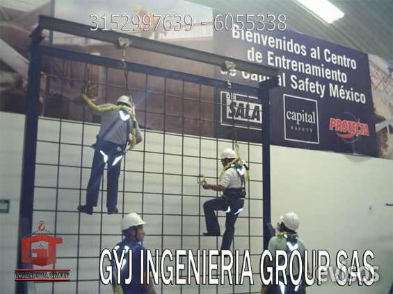 Lineas de vida verticales, seguridad industrial