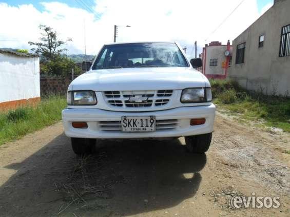 Chevrolet luv  4x4 doble cabina con platon