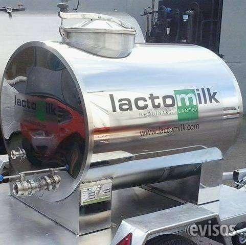 Tanques de leche y maquinaria lactea