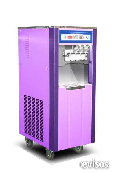 Vendo máquina de helados suave y duro