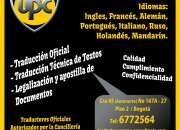 Traductores e intérpretes certificados