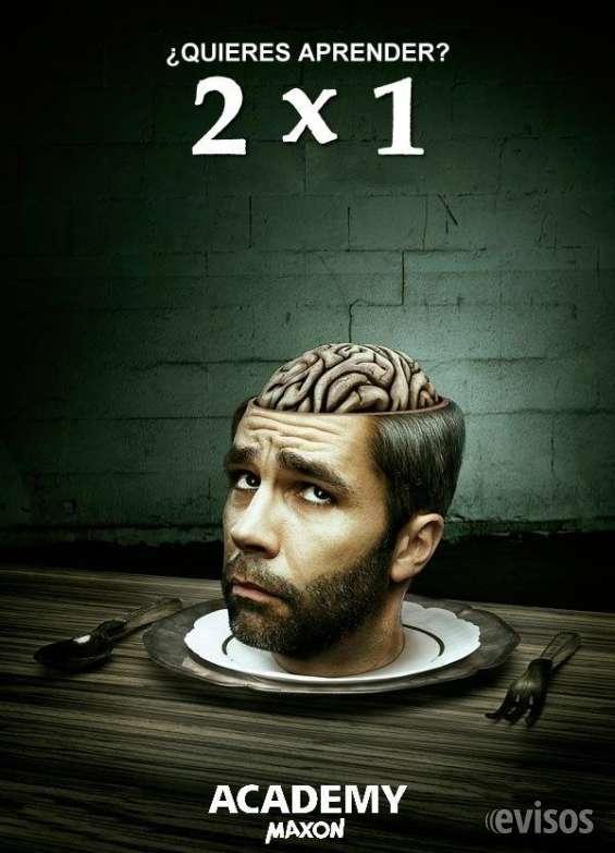 Promocion 2x1 cursos oficiales cinema 4d online!!