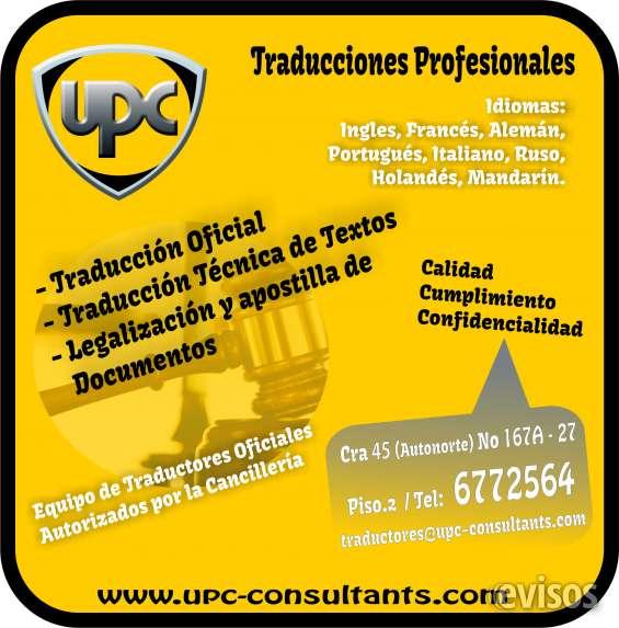 Traducciones oficiales y tecnicas*